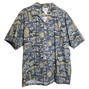 Authentic Hawaiian Button Front Shirt